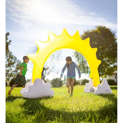 "93-inch x 67-inch Inflatable Sunshine Sprinkler - 93"" x 67"""