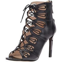 Nine West Women's Leslie Leathre Dress Sandal - 5.5