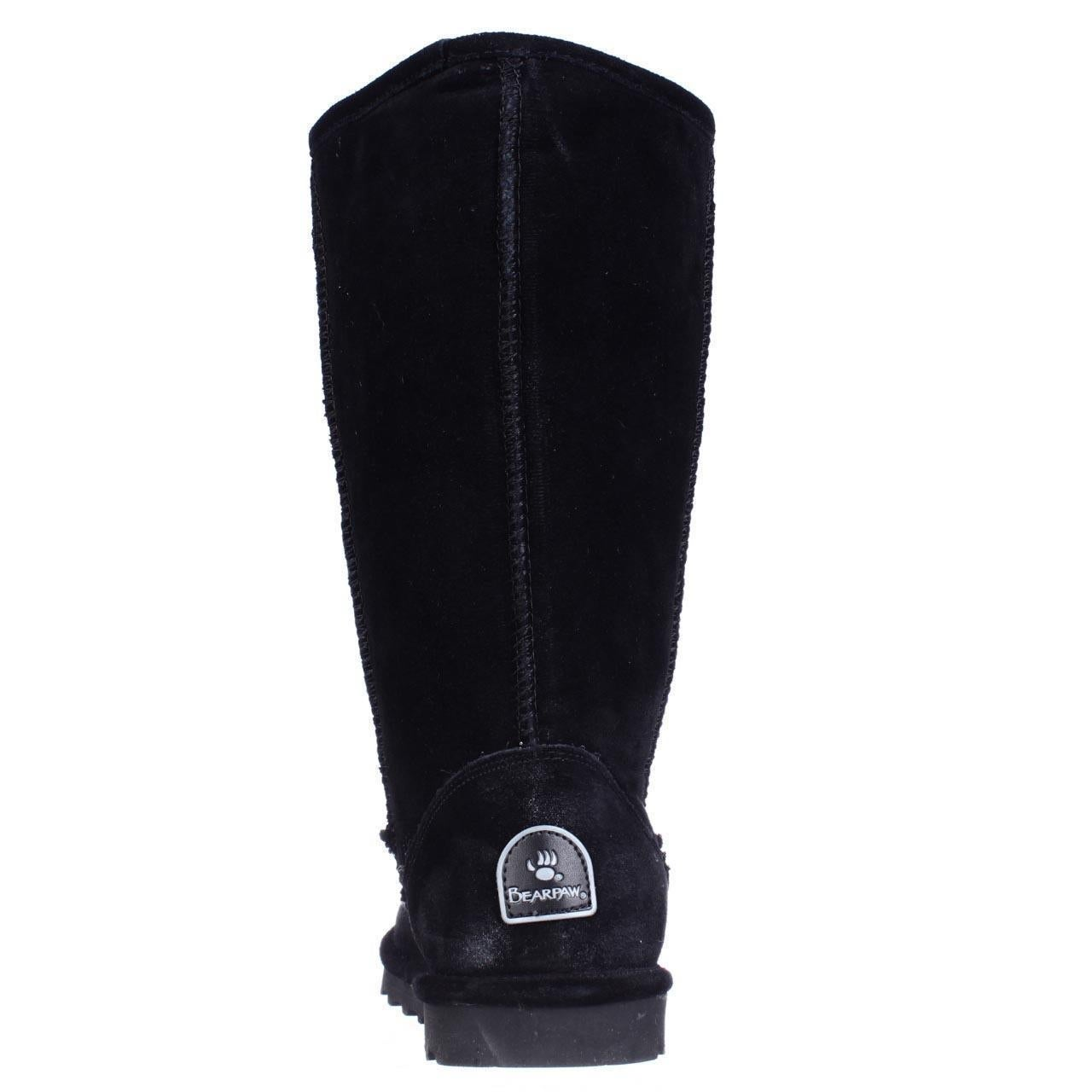baf61b9eb Shop Bearpaw Elle Tall Shearling Lined Water Resistant Winter Boots, Black  - Free Shipping Today - Overstock.com - 14081292 - Knee-High Boots - 5 US /  36 EU ...