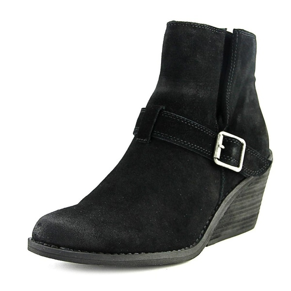 Very Volatile Almeria Women Round Toe Suede Ankle Boot
