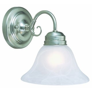 Design House 511618 Millbridge 1-Light Wall Sconce, Satin nickel