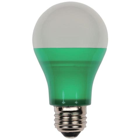 Westinghouse 0315200 Single 6 Watt Wet Rated A19 Shaped Medium (E26) - Green