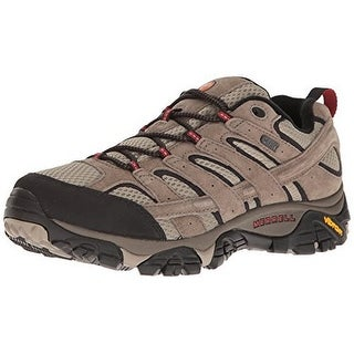 Merrell Womens Moab 2 Waterproof Hiking Shoe, Drizzle/Mint