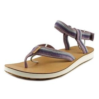 Teva Original Sandal Ombre W Open Toe Canvas Thong Sandal
