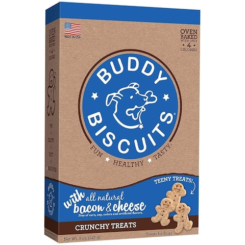 Cloud Star Itty Bitty Buddy Biscuits Bacon & Cheese 8 oz Dog Treats