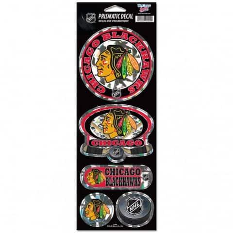 Chicago Blackhawks Stickers Prismatic