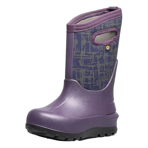 Bogs Outdoor Boots Girls Neo Classic Amazed Waterproof Insulated
