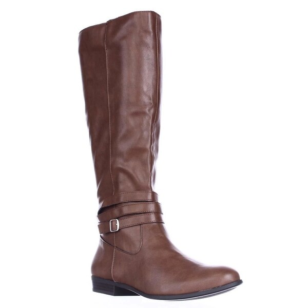 SC35 Fridaa Wide Calf Riding Boots, Barrel