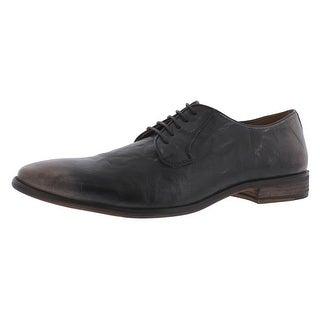 Steve Madden Mens Abotte Oxfords Leather Distressed