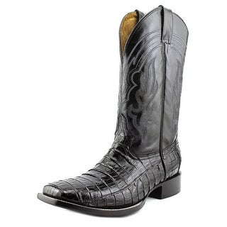Circle G by Corral L5009 Men 2E Square Toe Leather Black Western Boot