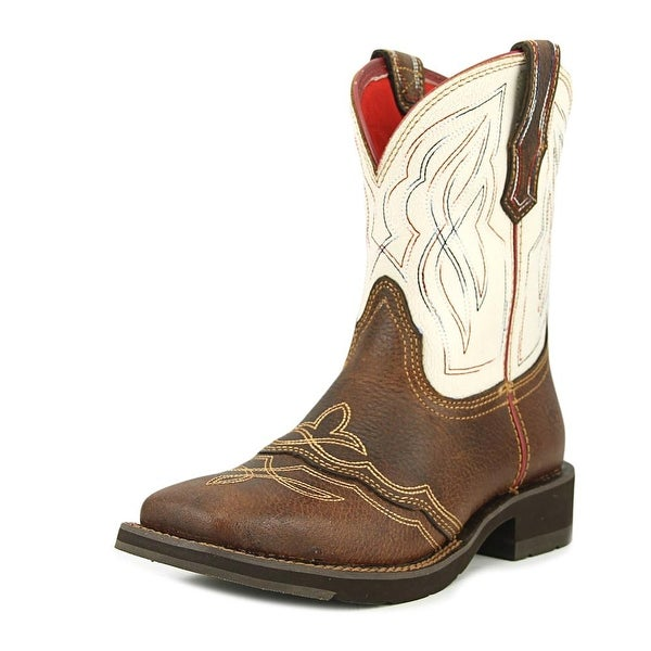 Ariat Ranchbaby II Women Square Toe Leather Multi Color Western Boot