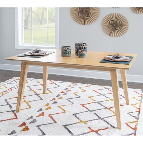 Powell Caelan Dining Table Natural