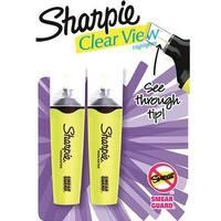 Sharpie 1912766 Clear Veiw Highlighter, Yellow