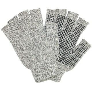 Grand Sierra Men's Raggwool Fingerless Gloves