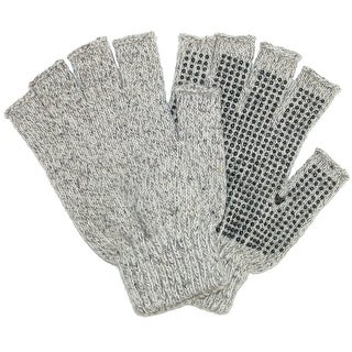 Grand Sierra Men's Raggwool Fingerless Gloves