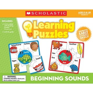 Beginning Sounds Learning Puzzles