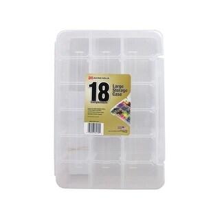 Akro-Mils Craft Storage Case 14.25x 9.5 18 CompClr
