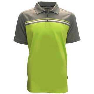 Skechers GoGolf Abalone Chest Striped Polo Shirt