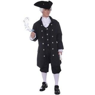 Forum Novelties Founding Father Adult Costume - Black - Standard