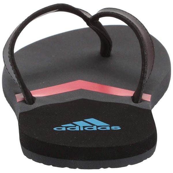 adidas open toe flip flops