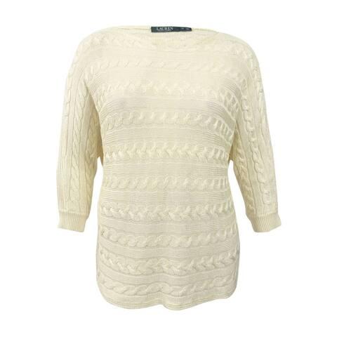 Lauren Ralph Lauren Women's Cable Knit Sweater