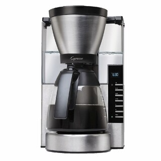 Capresso MG900 10-Cup Rapid Brew Coffee Maker- Refurbished (Stainless Steel)