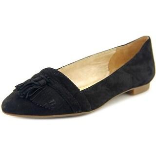Jessica Simpson Zylet Round Toe Suede Ballet Flats