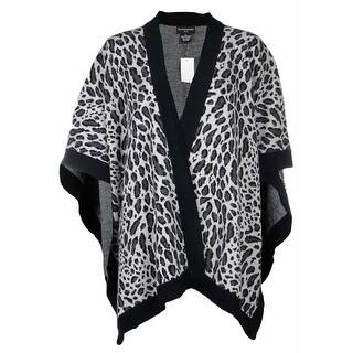 Sutton Studio Womens Merino Wool Leopard Poncho Wrap Misses https://ak1.ostkcdn.com/images/products/is/images/direct/45715c68901793d3f3fe03fe4dd7a8422219e8f9/Sutton-Studio-Womens-Merino-Wool-Leopard-Poncho-Wrap-Misses.jpg?impolicy=medium