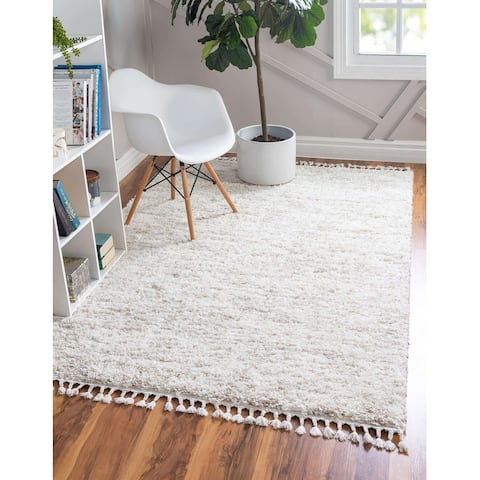 Unique Loom Misty Hygge Shag Area Rug