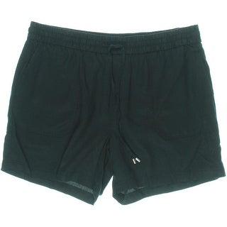 Lauren Ralph Lauren Womens Tencel Drapey Casual Shorts
