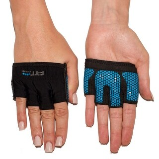 Fit Four The Gripper Fitness Weight Lifting Gloves - Electric Blue - Electric Blue