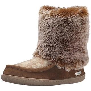 Baby Phat Women S Wauna Black Faux Fur Boots 11442697