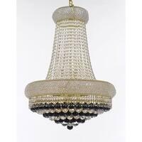 Swarovski Crystal Chandelier Gold 15 Lights