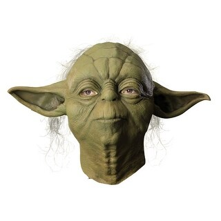 Yoda Overhead Star Wars Halloween Latex Mask