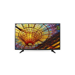LG Electronics 49UH6100 49-Inch 4K Ultra HD Smart LED TV (Refurbished) - Black
