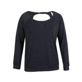 Ideology Women's Boat Neck Cut Out Back Sweatshirt - Heather Charcoal https://ak1.ostkcdn.com/images/products/is/images/direct/4575e6feab8372d971aa1662eb3415b7b148021e/Ideology-Women%27s-Boat-Neck-Cut-Out-Back-Sweatshirt.jpg?impolicy=medium