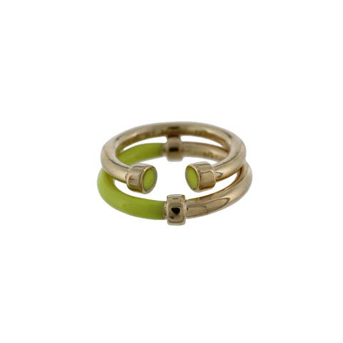Marc by Marc Jacobs Womens Hula Hoop Right-Hand Ring 2PC Stackable