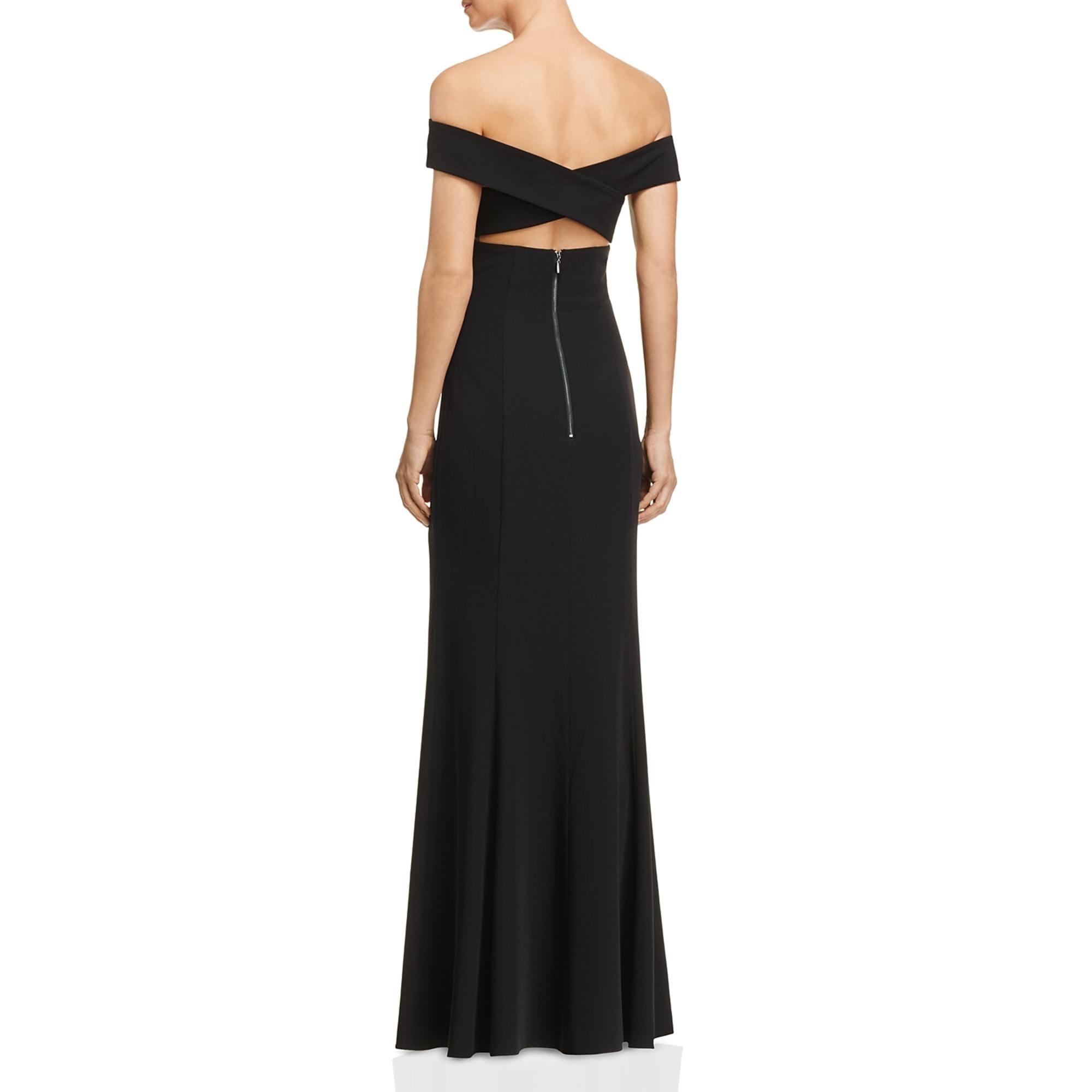 Laundry by Shelli Segal Womens Sleeveless Open Back Evening Dress