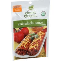 Simply Organic Enchilada Sauce - Organic - 1.41 oz - Case of 12