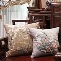 "Luxury Brown Bird Printing Pillow 20""X20"" - Thumbnail 1"