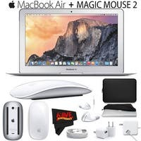Apple 11.6-Inch MacBook Air (Early 2015) with Apple Magic Mouse 2