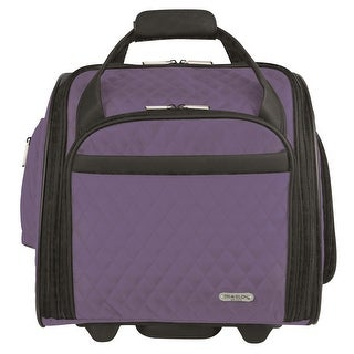 Travelon Wheeled Underseat Carry-On with Back Up Bag