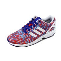 Adidas Men's ZX Flux Weave Night Flash/White-Black B34473 Size 9.5