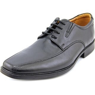Clarks Tilden Walk   Bicycle Toe Leather  Oxford