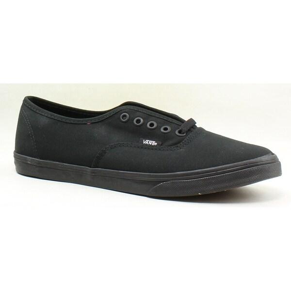 229b98c6f01d Shop Vans Mens Authentic Lo Pro Black/Black Skateboarding Shoes Size ...