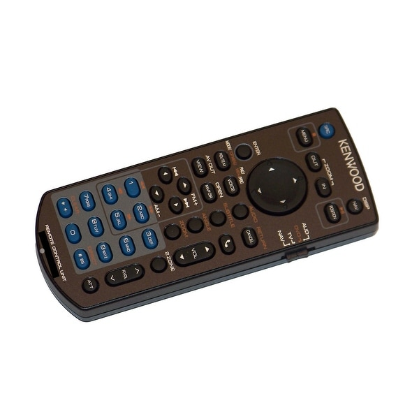 OEM Kenwood Remote Control Originally Shipped With: DNX891HD, DNX7710BT, DNX691HD, and DNX5710BT
