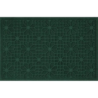 707590023 Water Guard Stained Glass Mat in Evergreen - 2 ft. x 3 ft.