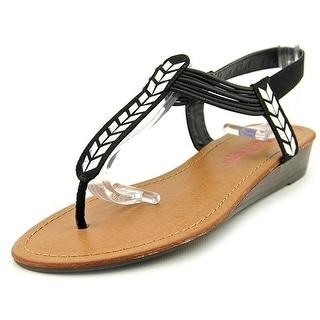 Pink & Pepper Maxxi Women Open Toe Canvas Thong Sandal