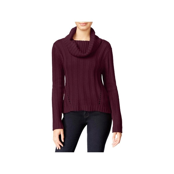 c525fbfc4 Shop Hooked Up by IOT Womens Juniors Pullover Sweater Solid Ribbed ...