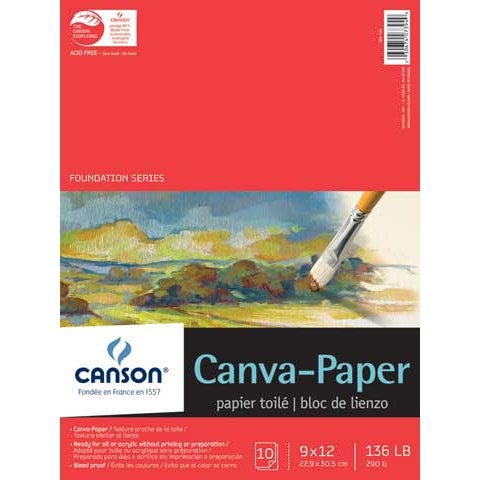 """Canson - Foundation Series Canva-Paper Pad - 18"""" x 24"""""""